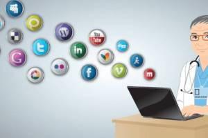 healthcare industry social media