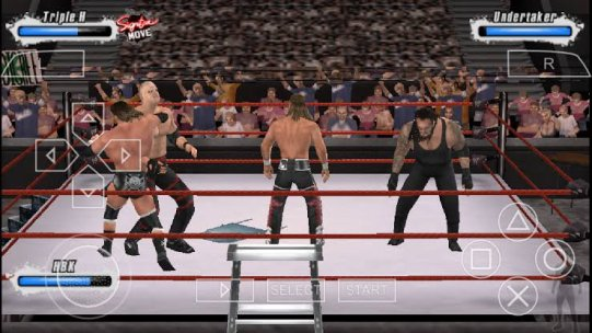 WWE SmackDown! vs. RAW 2009 featuring ECW Ppsspp
