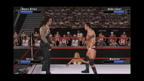 WWE SmackDown! vs. RAW 2008 featuring ECW ppsspp