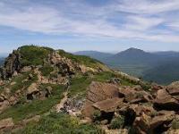 至仏山山頂と尾瀬ケ原