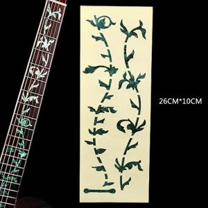 Fretboard inlay fret marker decal sticker tree of life abalone