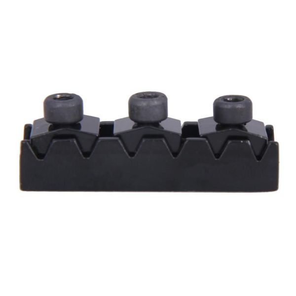 Guitar locking nut 42.2mm black