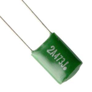 Green Capacitor 0.047 uF 600v