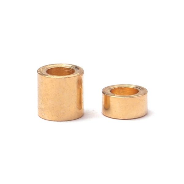 (2PCS) Butterfly style string guides gold