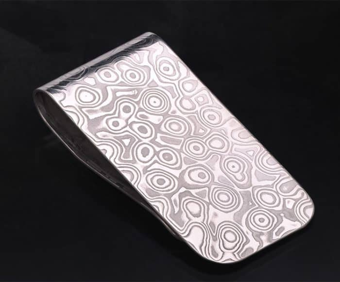 damascus money clip