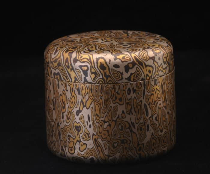 unique mokume keepsake box