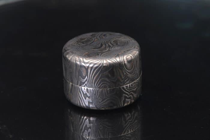 damascus steel keepsake box