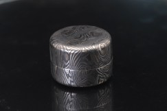 damascus steel keepsake box