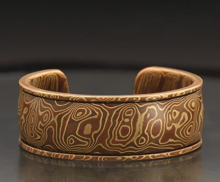 Thick cuff bracelet