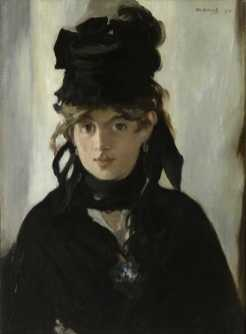 Portret Manet van Morisot