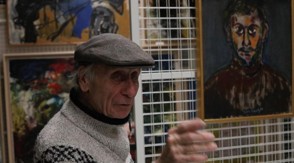 Jan Sierhuis zelfportret