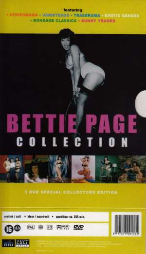 dvd Bettie Page Collection