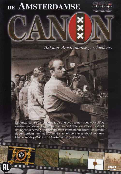 dvd-box De Amsterdamse canon
