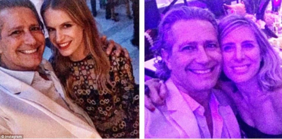 Photomania: Valentino marca embaixador Carlos Souza com designer de jóias e herdeira Eugenie Niarchos (à esquerda) e filantropo Jamie Tisch (à direita)