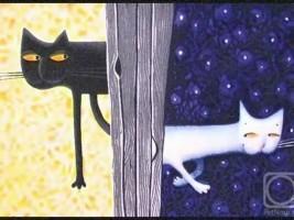 Детские песни о черном коте