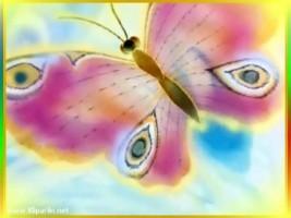 Детский клип - Песенка бабочек
