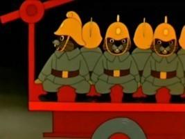 Кошкин дом - Песенка пожарников