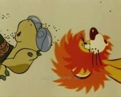 Детский клип - Песенка львенка