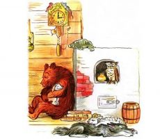 Сказка - Как аист на ёлку опоздал