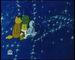 Детские клипы - Лунная дорожка