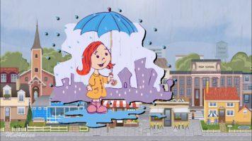 Песни про осень - Дождик льет по крышам