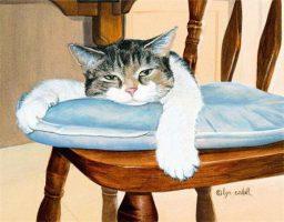 Веселые песни -Стулья и кошка
