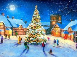 Белый снег идет - Новогодние песни