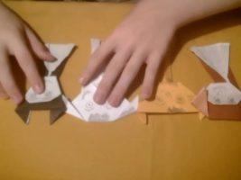 Оригами Стаса c уроком английского