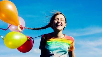 Воспитать жизнерадостного ребенка - Полезные статьи