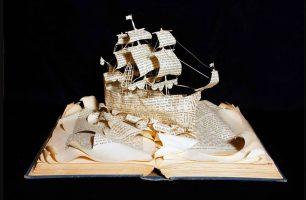 Книжные скульптуры Эммы Тейлор - слайдшоу