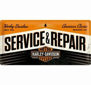 Cartello 25 X 50 Service & Repair