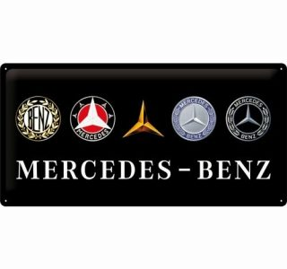 Cartello 25 X 50 Mercedes – Benz