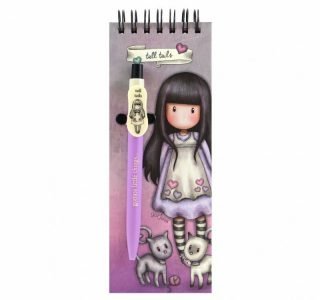 GORJUSS JOTTER PAD WITH PEN – TACCUINO CON PENNATALL TAILS