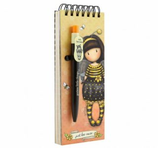 GORJUSS JOTTER PAD WITH PEN – TACCUINO CON PENNA BEE