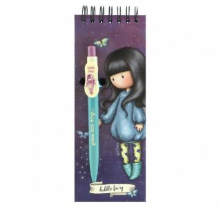 GORJUSS JOTTER PAD WITH PEN – TACCUINO CON PENNA BUBBLE
