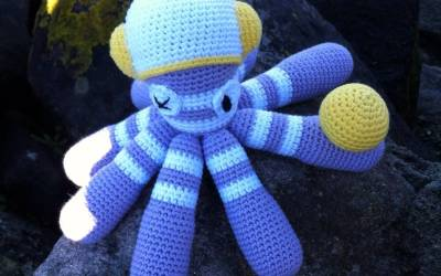 Free pattern Octopus Dave