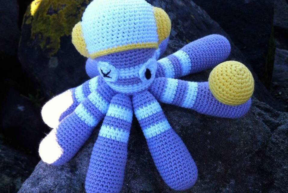 Free pattern Octopus Dave