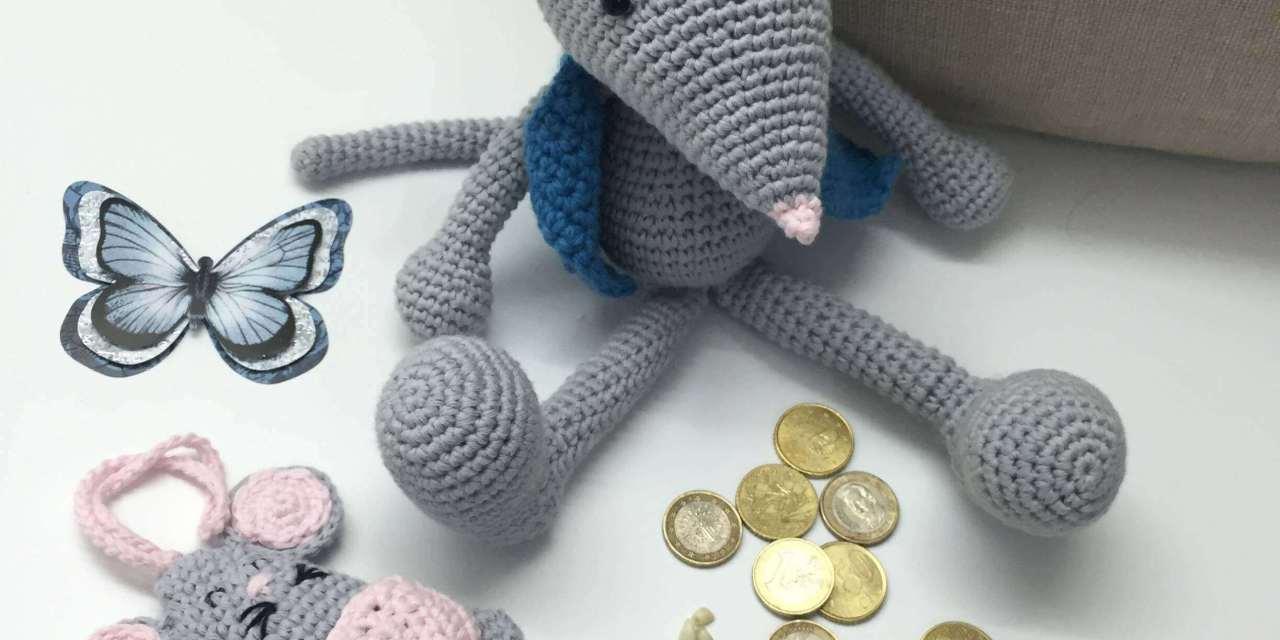 Perez Mouse DIY pattern  Amigurumi  crochet free.