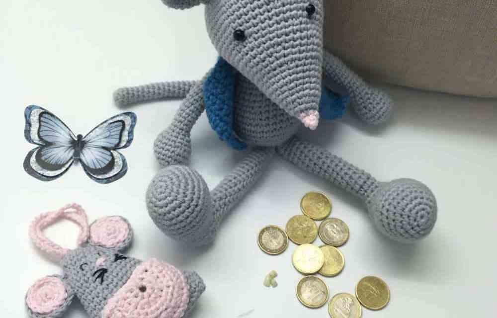 Patron de Ratoncito perez patrones Amigurumi a crochet gratis