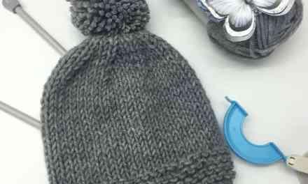 Como hacer gorros de lana a dos agujas paso a paso.