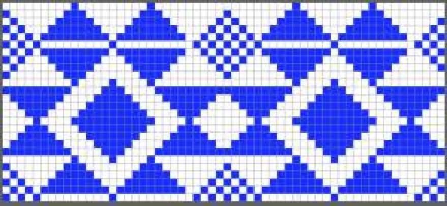 Colores bolso azul diagrama