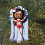 Amigurumi crochet muñeca Lau
