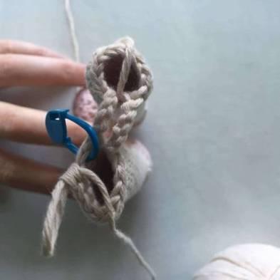 Amigurumi crochet 4cad dos veces
