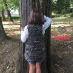 Chaleco de punto Ethnic para niña y video-tutorial de 3 agujas