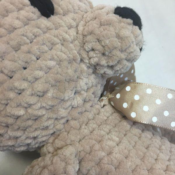 bamby amigurumi bear lace