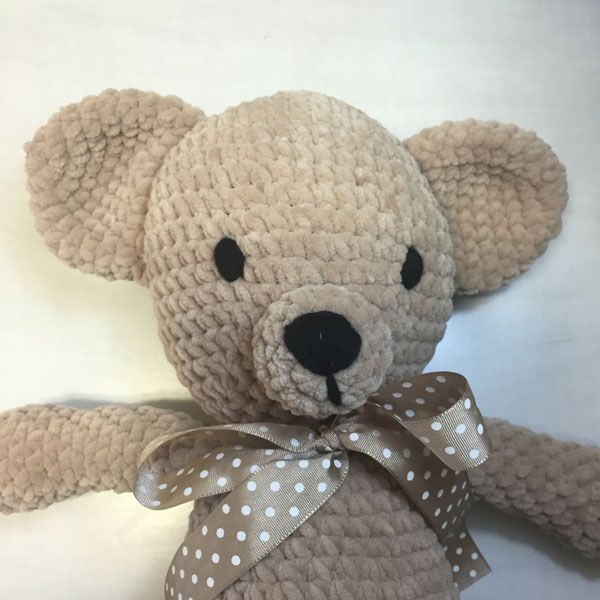 bamby bear crochet amigurumi eyes