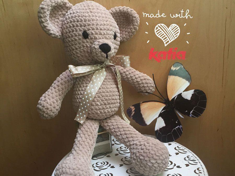Amigurimi Pattern: Bamby Bear