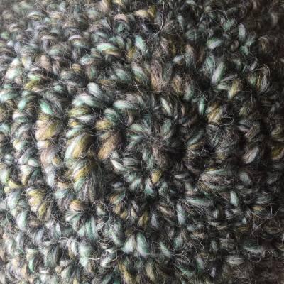 Crochet hat spiral