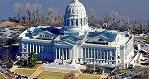 The Missouri State capitol building. File photo.