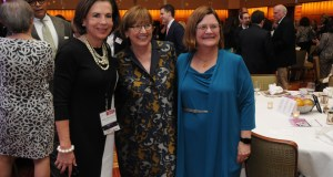 From left, Judge Mary Russell, Chief Justice Patricia Breckenridge, and Judge Laura Denvir Stith. Photo by Scott Lauck